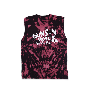 GnR Was Here Lava Wash Muscle Tank