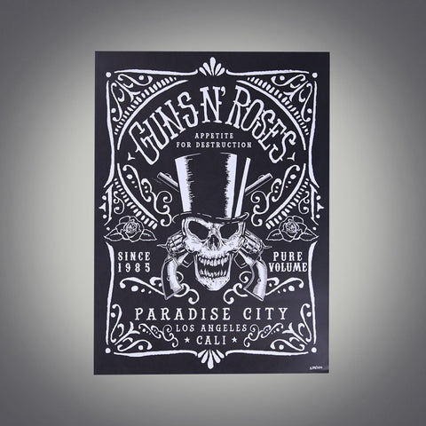 Limited Edition Hand Numbered Paradise City Lithograph