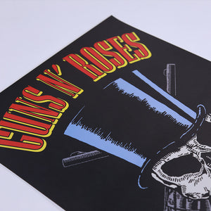 Limited Edition Hand Numbered Appetite For Destruction Lithograph