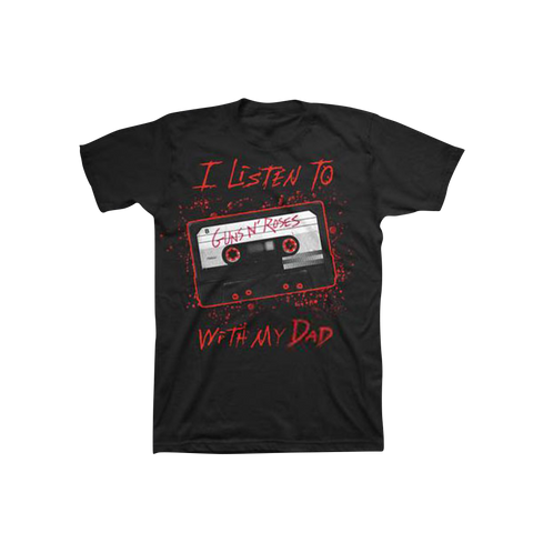 I Listen To GN'R Cassette Kid's T-Shirt