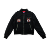 GN'R Maxfield Black Ladies Fit Bomber Jacket