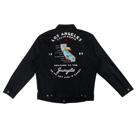 GN'R Maxfield Black Denim Jacket