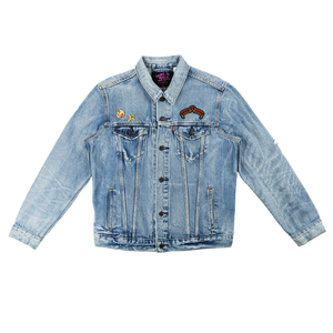 GnR Maxfield Blue Washed Denim Jacket