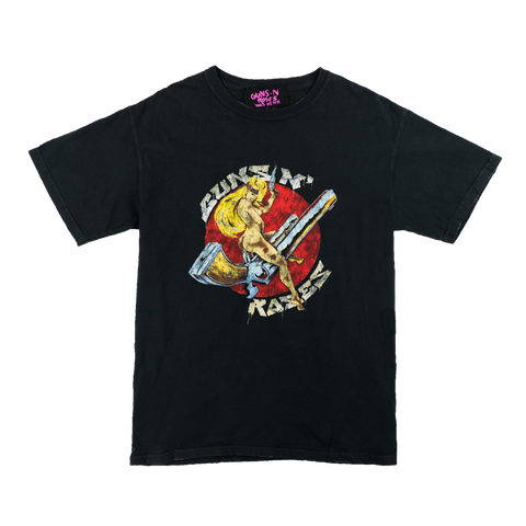 GN'R Maxfield Black Riding Gun T-Shirt