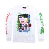 GnR Maxfield White Blonde Long Sleeve Shirt