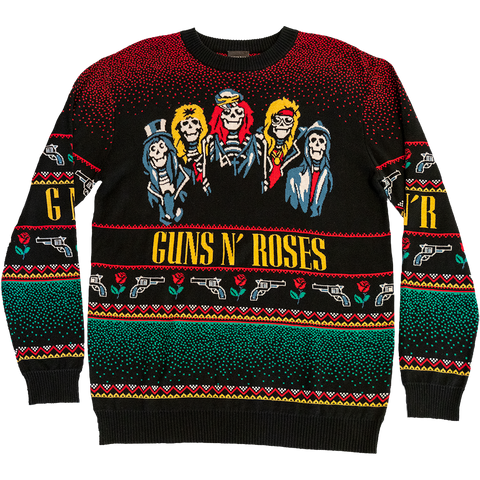 Guns N' Roses Holiday Sweater