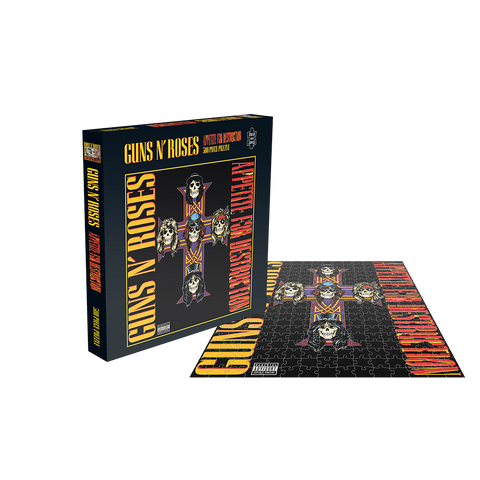Appetite For Destruction Cross Puzzle