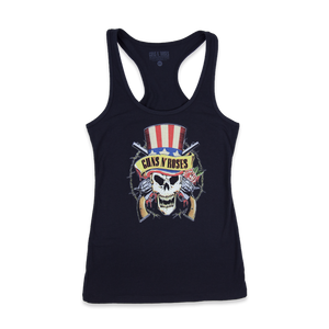 Uncle Sam Skull Racerback Tank