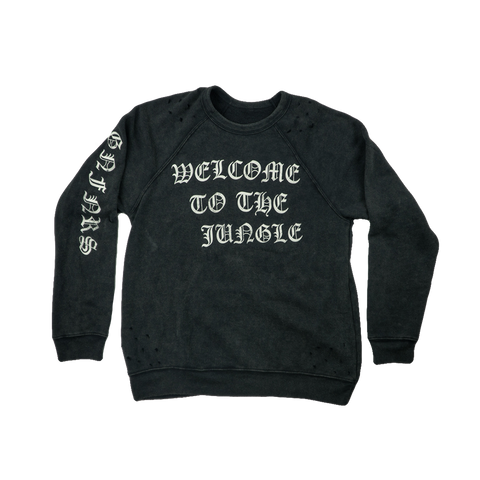 Welcome To The Jungle Crewneck
