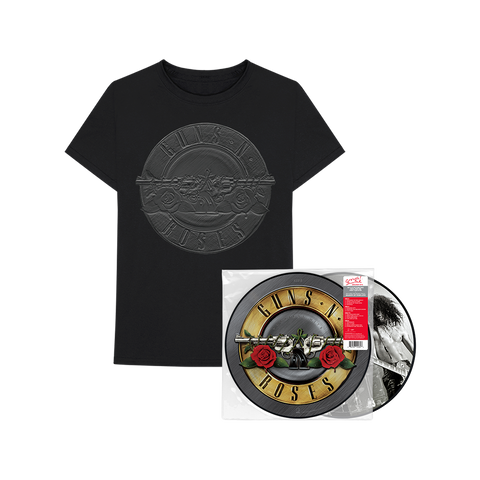 Greatest Hits T-Shirt + Picture Disc