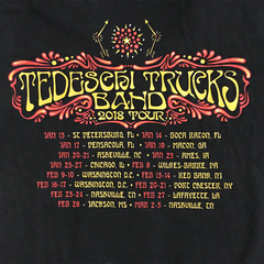 2018 Jan-Mar Tour Ladies T-Shirt