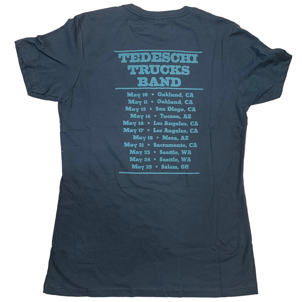 2019 West Coast Tour Ladies Cut T-Shirt