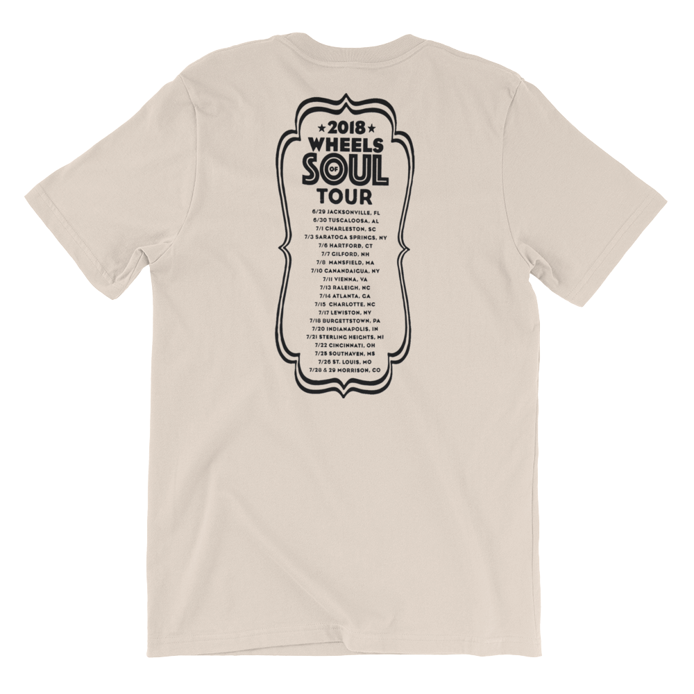 Wheels Of Soul 2018 Tour Tee (Tan)