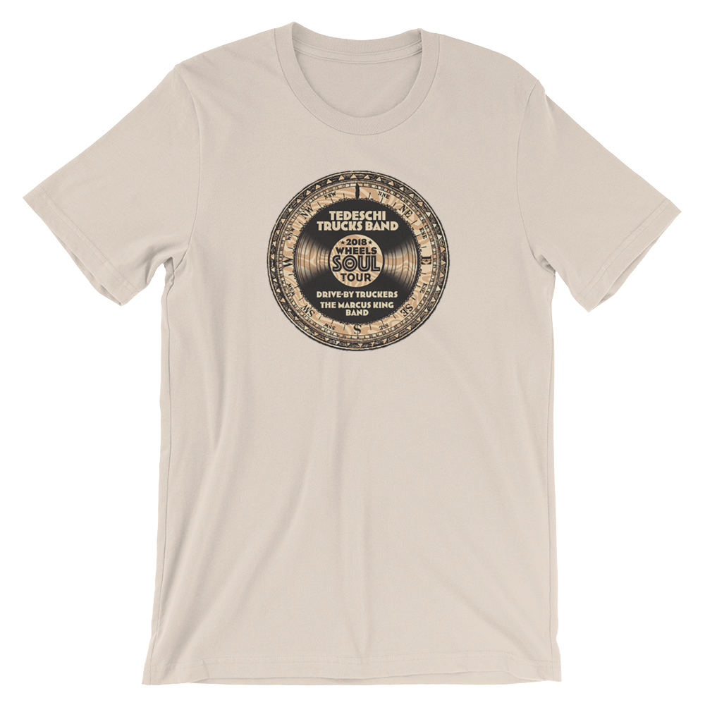 Wheels Of Soul 2018 Tour T-Shirt (Tan)