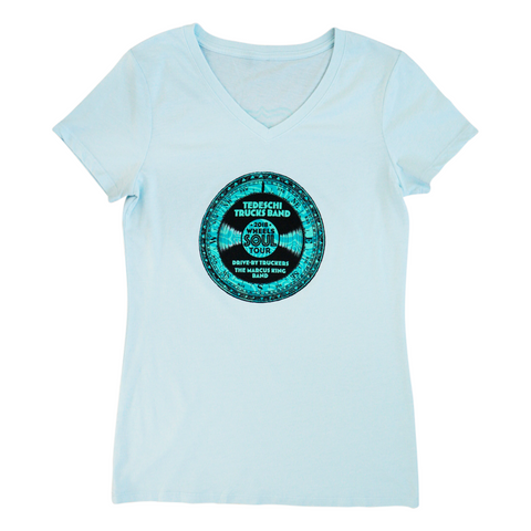 Ladies Wheels Of Soul 2018 Tour T-Shirt (Chambray)
