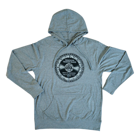 Wheels Of Soul Tour 2018 Hoodie (Grey)