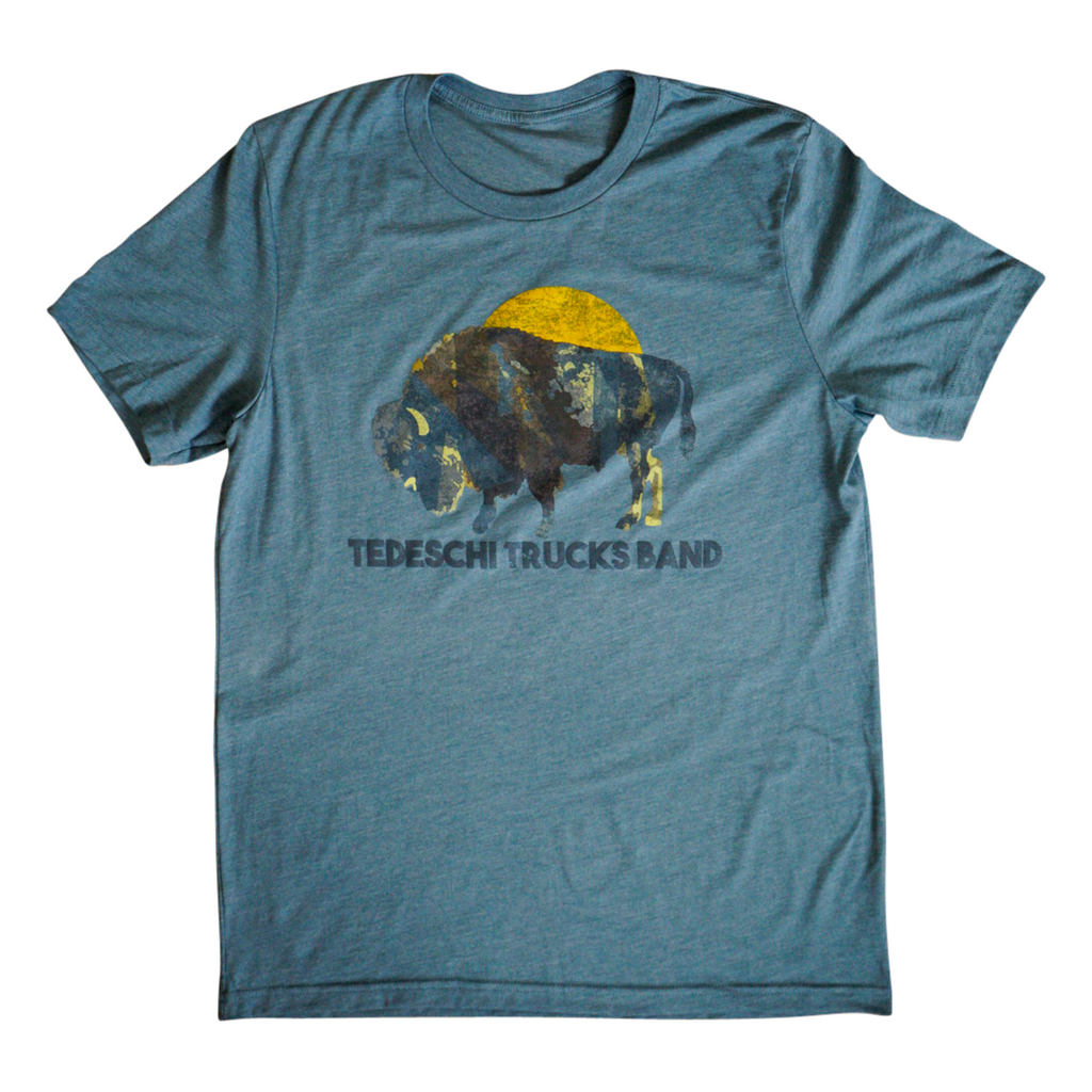 Buffalo Sun T-Shirt (Slate Blue)