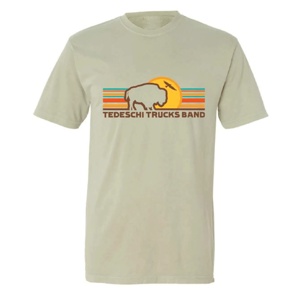 Retro Buffalo Sun T-Shirt