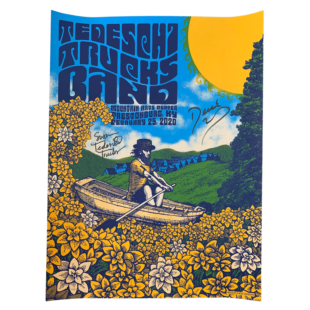 February 25, 2020 Mountain Arts Center Prestonburg, KY Show Poster -- SIGNED