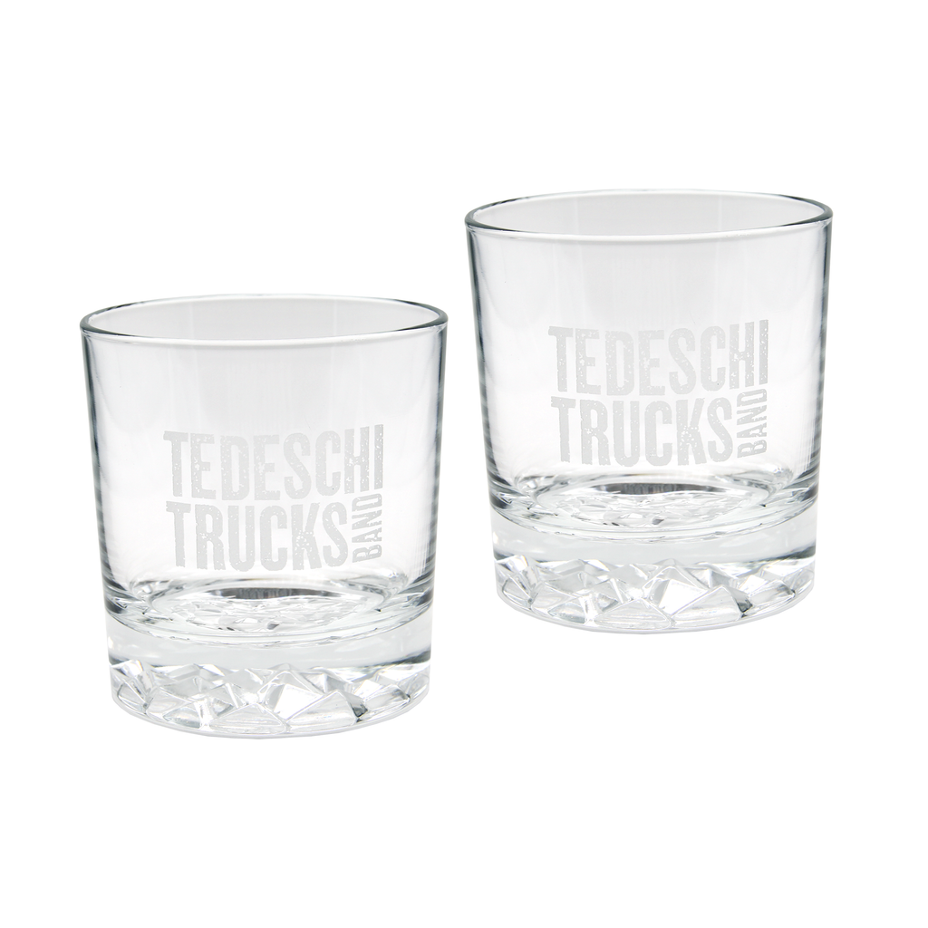 Logo Rocks Glass Set