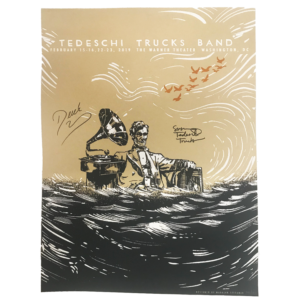 TTB - 2019 Washington D.C. Event Poster (Signed)