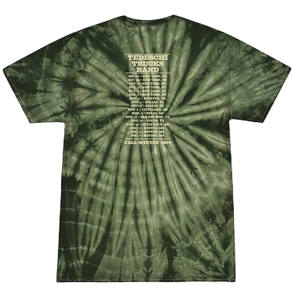 Fall Tour 2019 Guitar Tie Dye T-Shirt