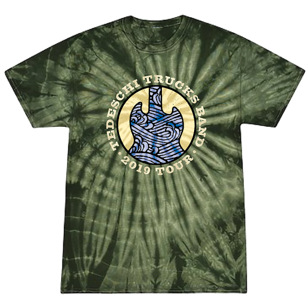 Fall Tie Dye Tour T-Shirt