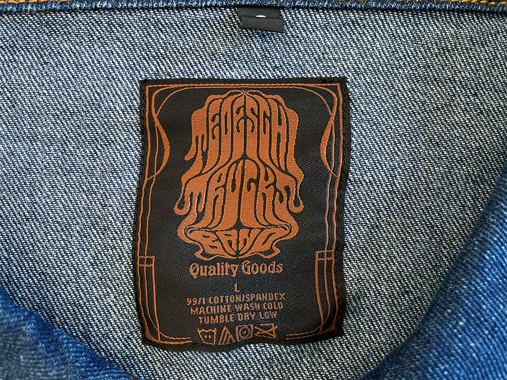 The Elements Embroidered Jean Jacket