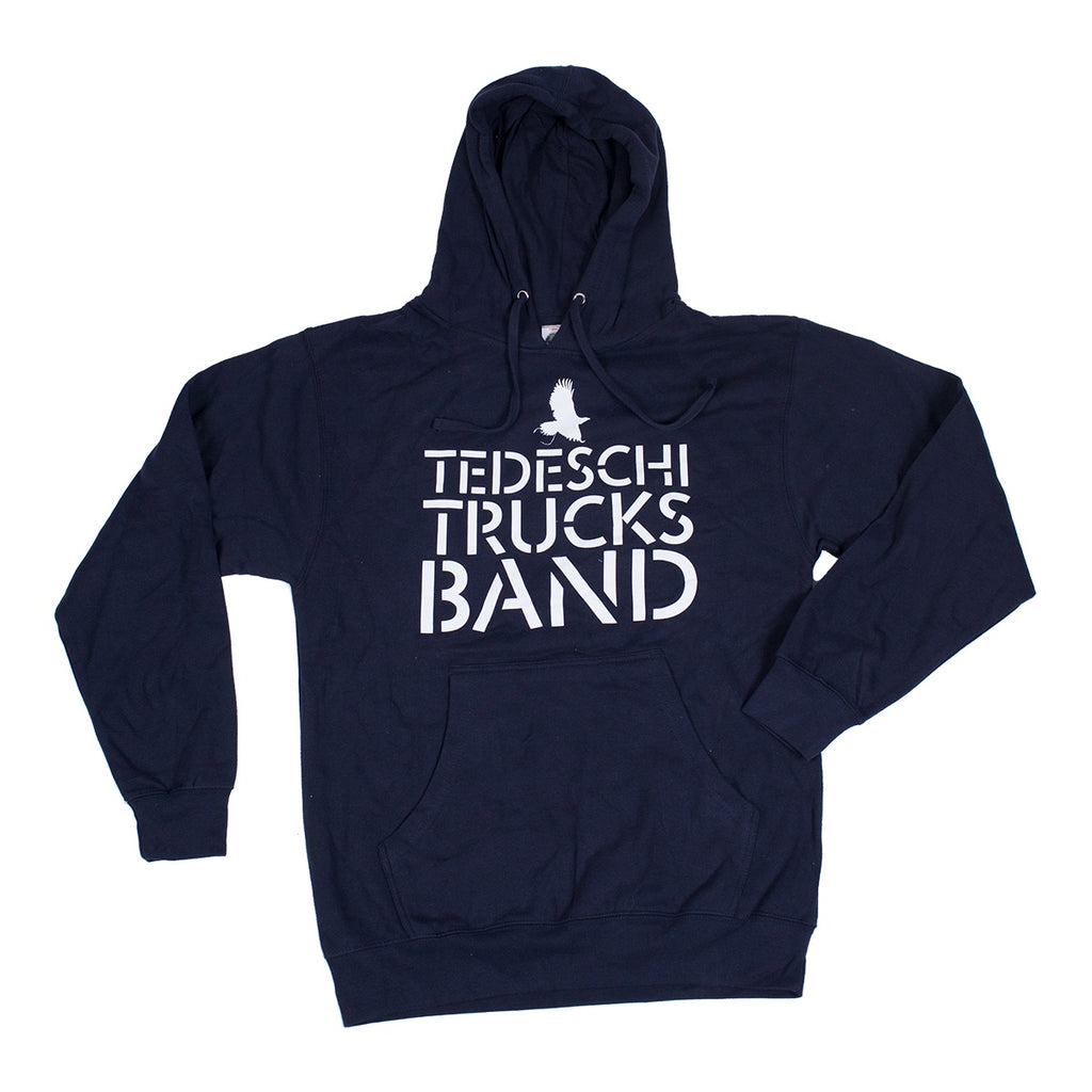 Apparel - Stacked Logo Hoodie (Navy)