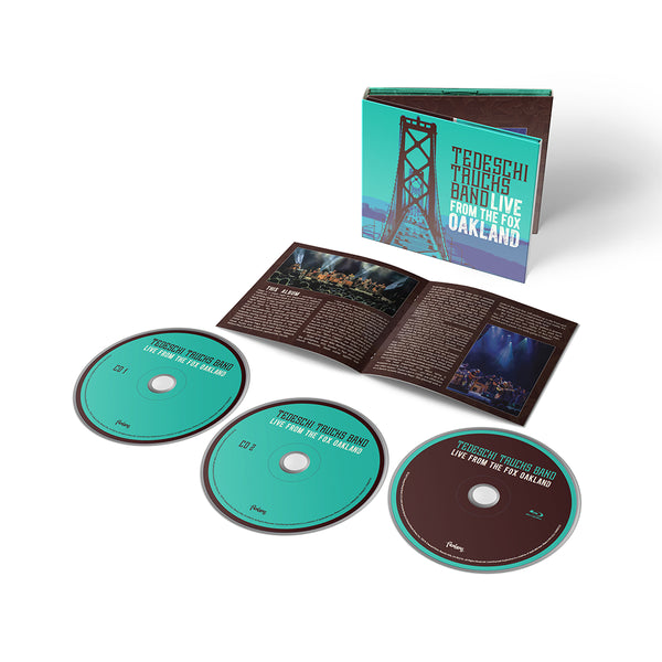 Media - PRE-ORDER Live From The Fox Oakland - CD/Blu-ray Set