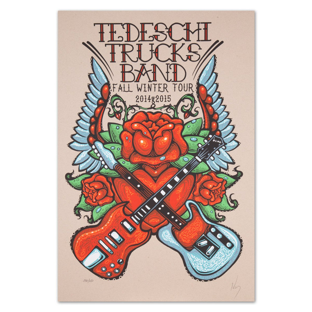 Prints - 2014 Winter Tour Poster