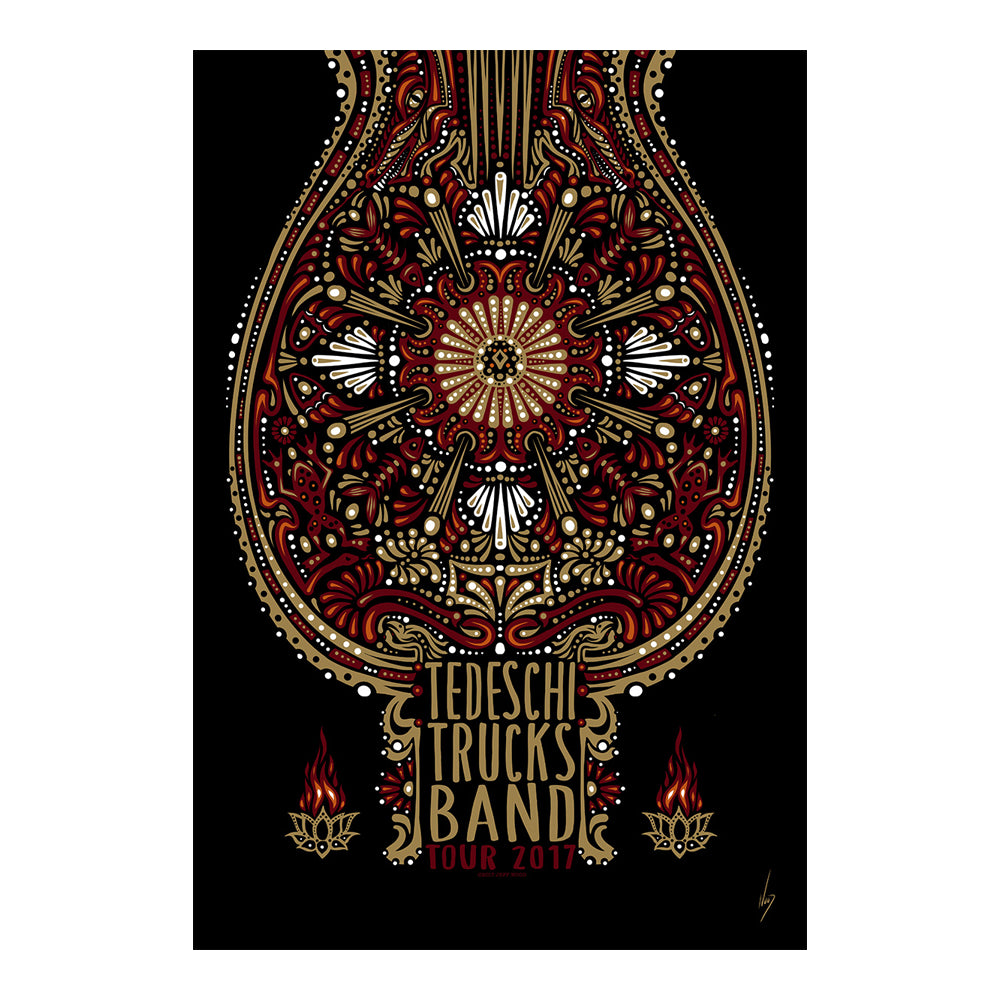 Prints - 2017 Winter Tour Poster
