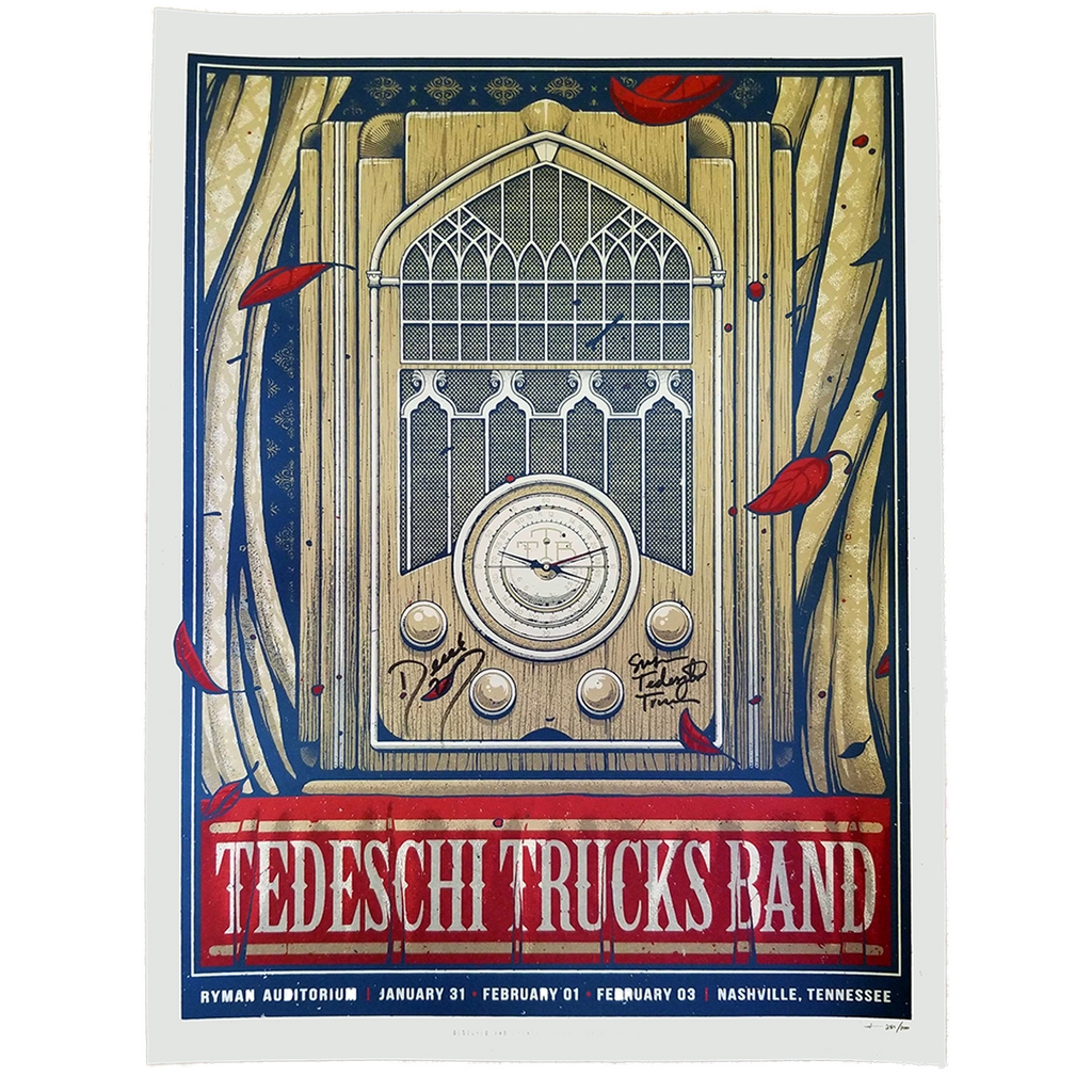 February 1, 2019 Nashville Show Poster (Signed & Unsigned)