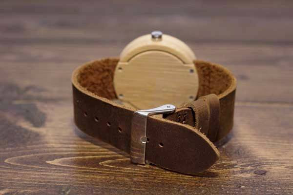 All Natural Wood Watch - Leather And Wood Co.
