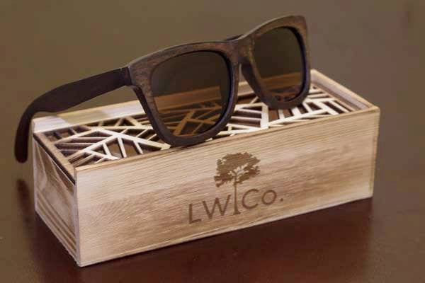 Adventures Await Wood Sunglasses - Leather And Wood Co.
