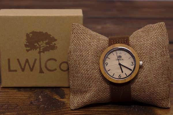 Down To Business Wood Watch - Leather And Wood Co.