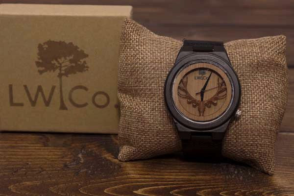 The Trophy Wood Watch - Leather And Wood Co.