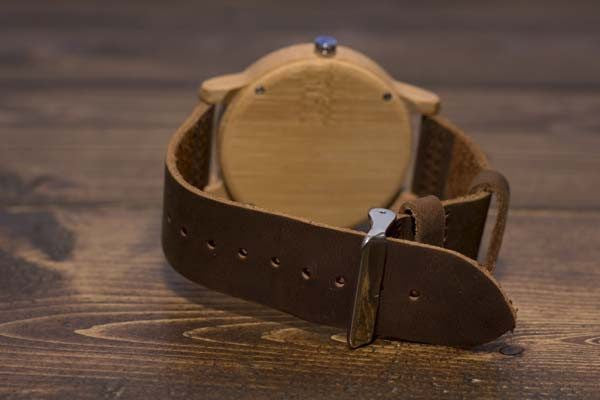 Simplicity Wood Watch - Leather And Wood Co.