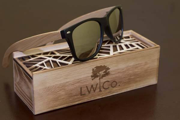 The Boss Wood Sunglasses - Leather And Wood Co.