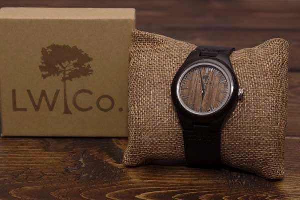 The Standard Wood Watch - Leather And Wood Co.