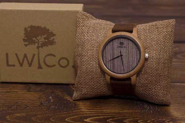 Weekend Adventurer Wood Watch - Leather And Wood Co.