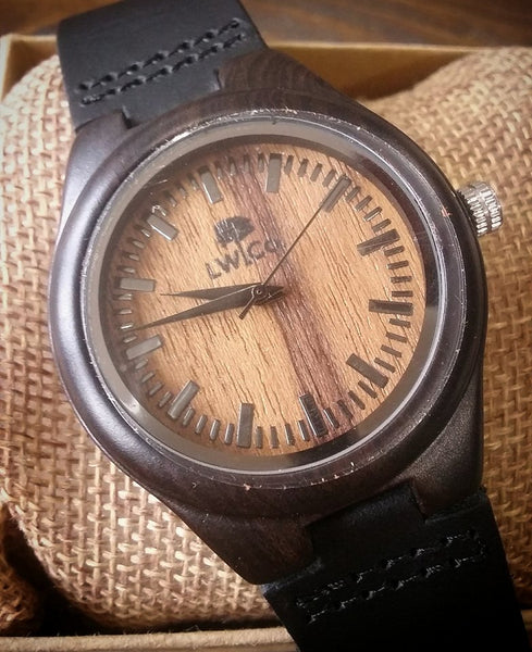 Wood Watch The Standard Leather And Wood Co.