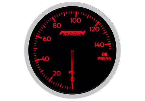 Perrin - Oil Pressure Gauge - 140psi - 60mm - ASM-GAU-015