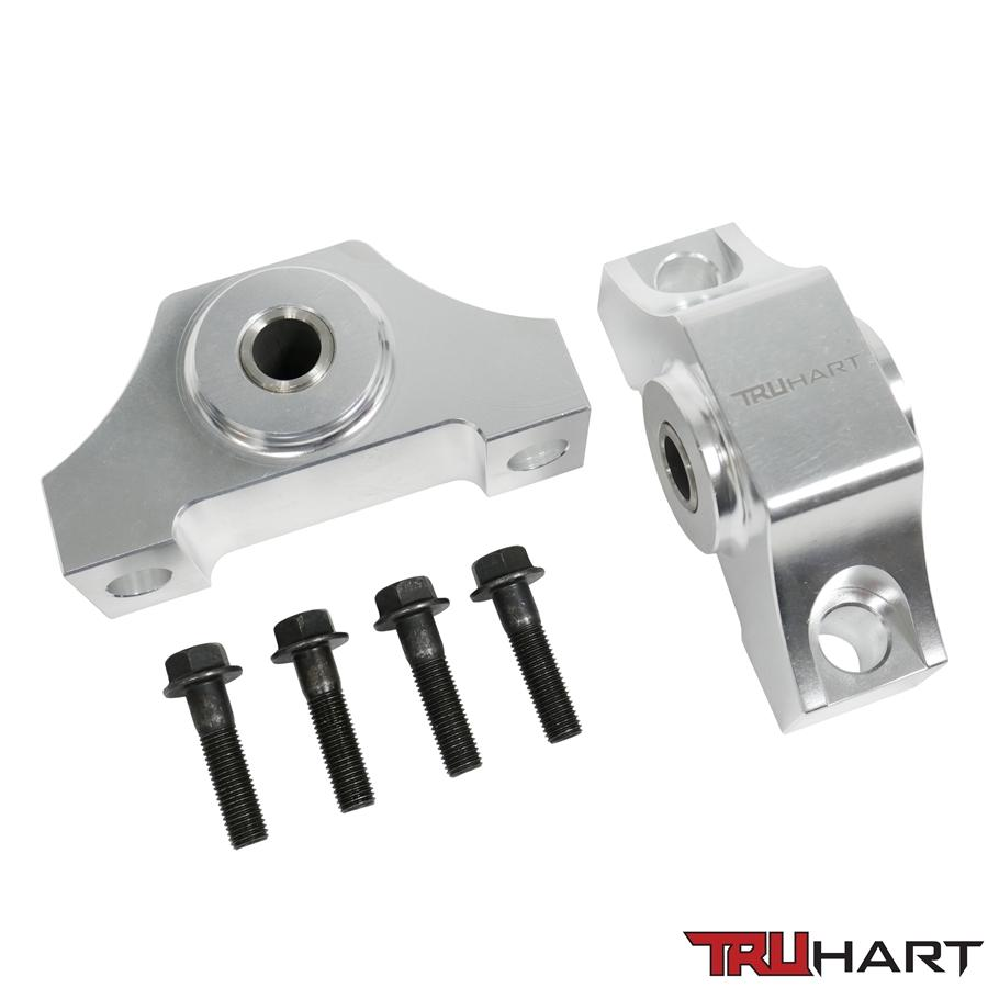 TruHart - Solid Billet Torque Mounts - Polished - TH-H306-AL - NextGen Tuning