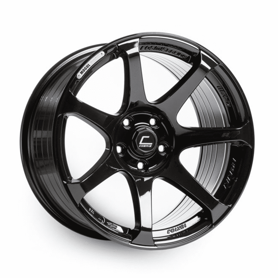 Cosmis Racing - MR7 Wheel - 18x10 +25mm - 5x114.3 - Black