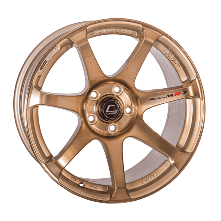 Cosmis Racing - MR7 Wheel - 18x9 +25mm - 5x100 - Hyper Bronze