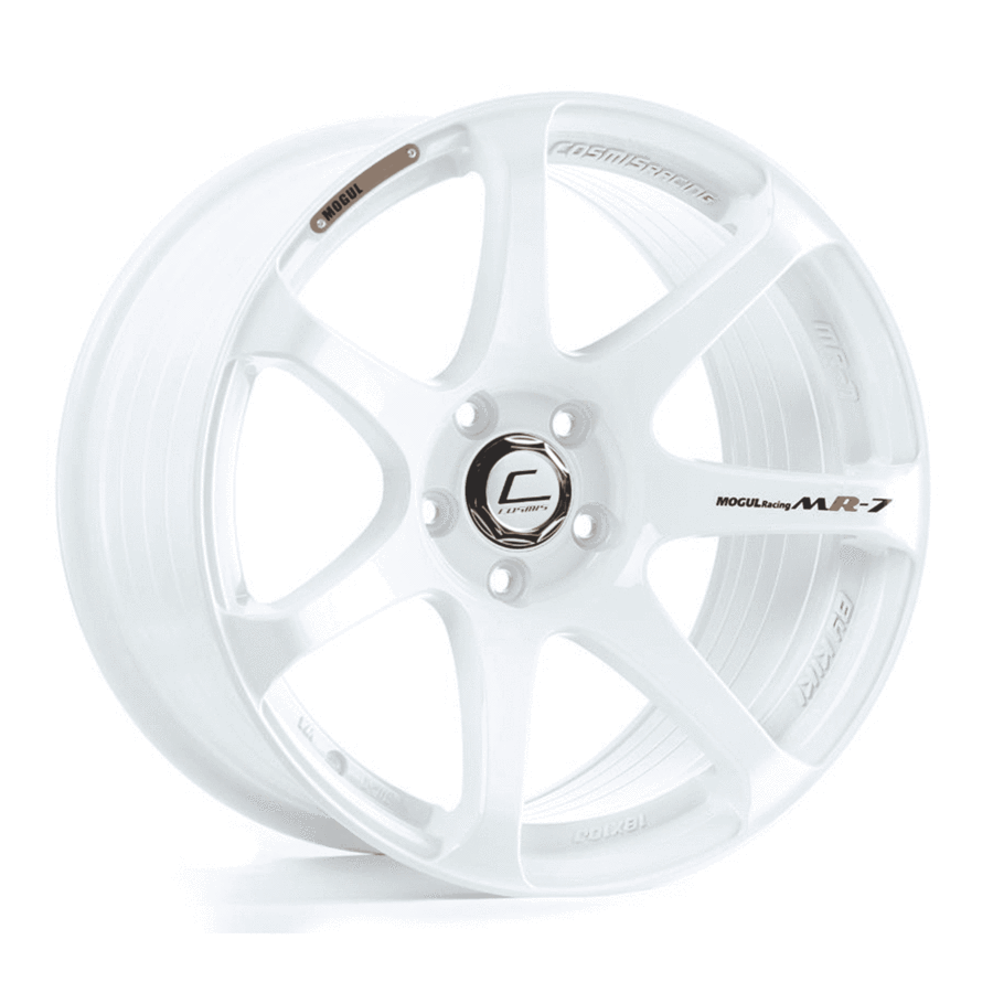 Cosmis Racing - MR7 Wheel - 18x10 +25mm - 5x114.3 - White