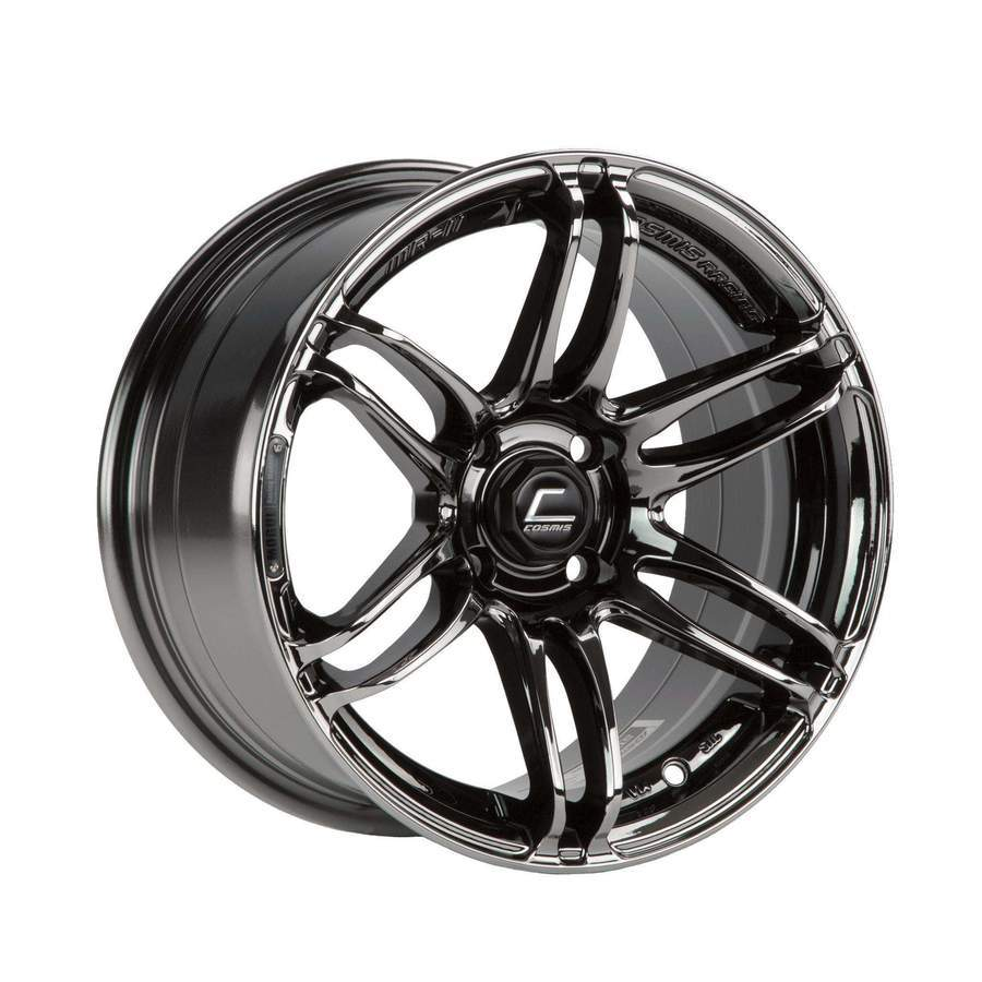 Cosmis Racing - MRII Wheel - 15x8 +30mm - 4x100 - Black Chrome