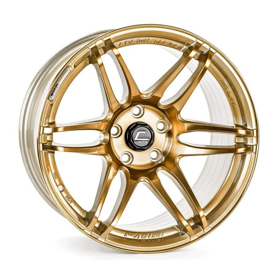 Cosmis Racing - MRII Wheel - 15x8 +30mm - 4x100 - Hyper Bronze