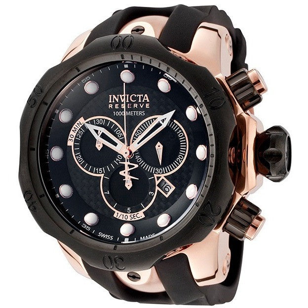Invicta Men's 0361 Reserve Chronograph 18k Rose Gold-Plated Watch